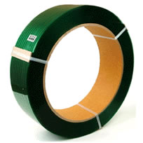 Polyester Strapping can be used in both manual and battery operated hand tools